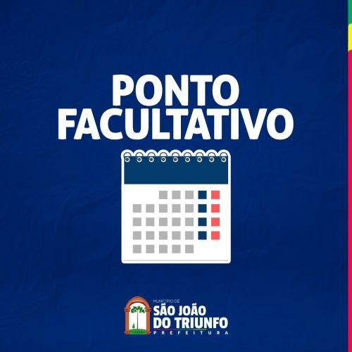 Prefeitura de São João do Triunfo decreta Ponto Facultativo o dia 1º de abril.