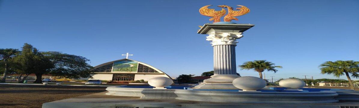 Estatua Praça da Concordia