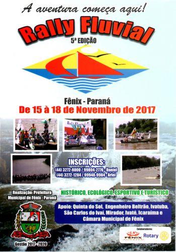 5ª Edição Rally Fluvial