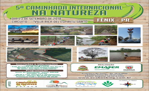 5º CAMINHADA INTERNACIONAL DA NATUREZA