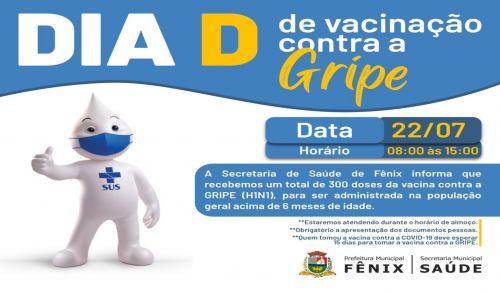 Informativo - VACINAÇÃO CONTRA INFLUENZA (vacina da gripe)