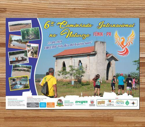 """6º Caminhada Internacional da Natureza - Circuito """"Vila Rica Del Espirito Santo"""""""