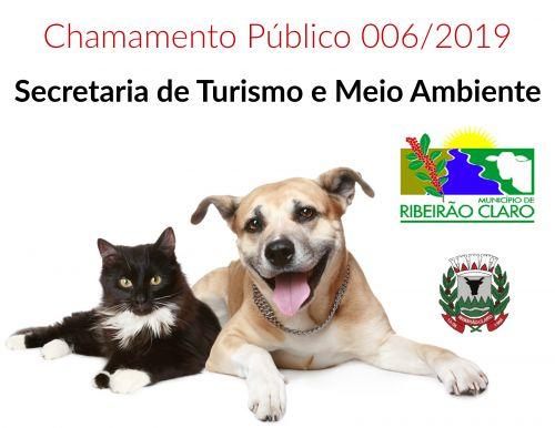 EDITAL DE CHAMAMENTO PÚBLICO Nº 006/2019