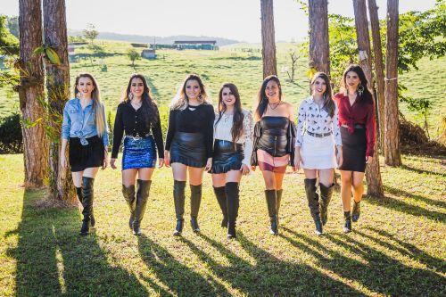 Ensaio com as candidatas à Rainha da 23ª Fescafé
