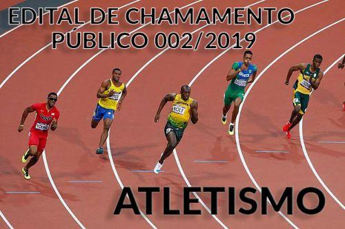 EDITAL DE CHAMAMENTO PÚBLICO Nº 002/2019