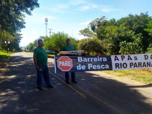 ALTO PARAÍSO REALIZOU A BARREIRA DE PESCA 2020