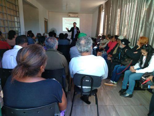 Reunião dos beneficiários do BPC - Benefício de Prestação Continuada