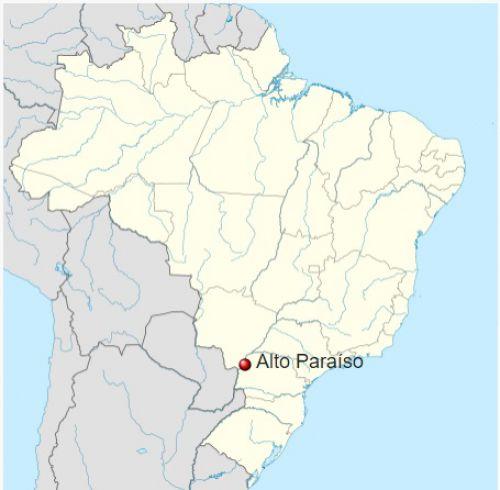 Município de Alto Paraíso no Brasil
