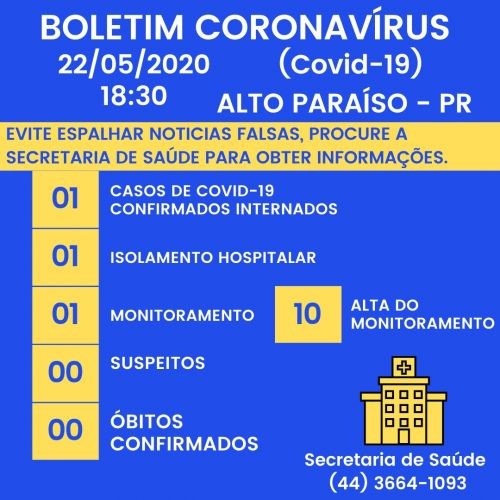 BOLETIM COVID -19