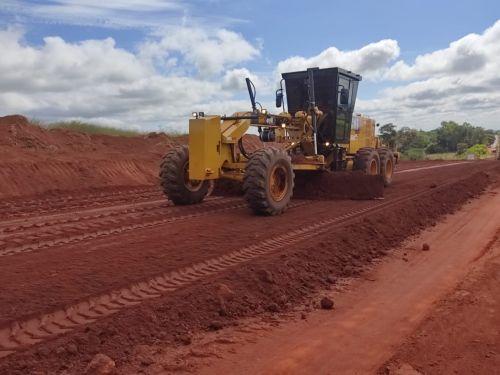 Inicio das Obras de Pavimentação Até o Cemitério Municipal