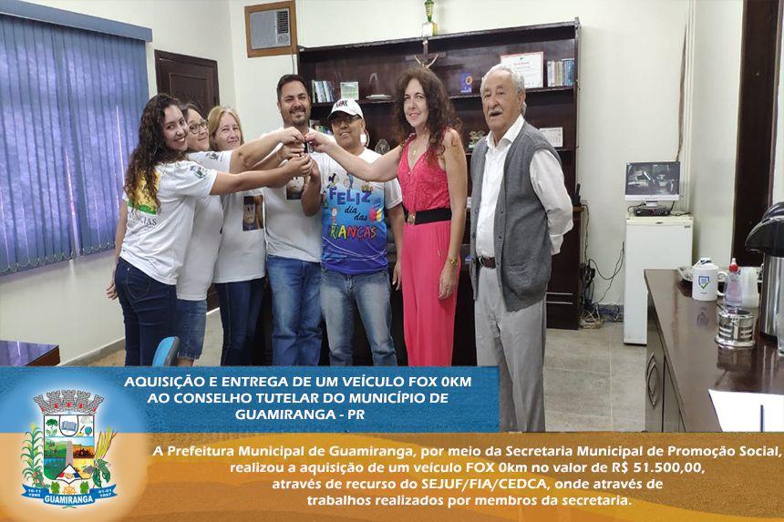 A PREFEITURA MUNICIPAL DE GUAMIRANGA, POR MEIO DA SECRETARIA MUNICIPAL DE PROMOÇÃO SOCIAL