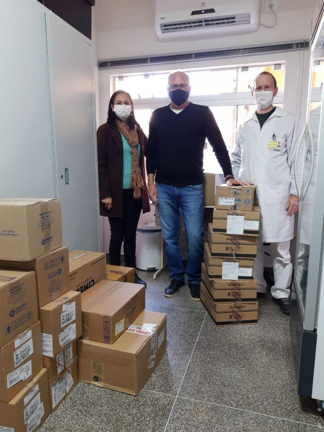 Medicamentos para Covid-19 chegaram dia 14/05/2021