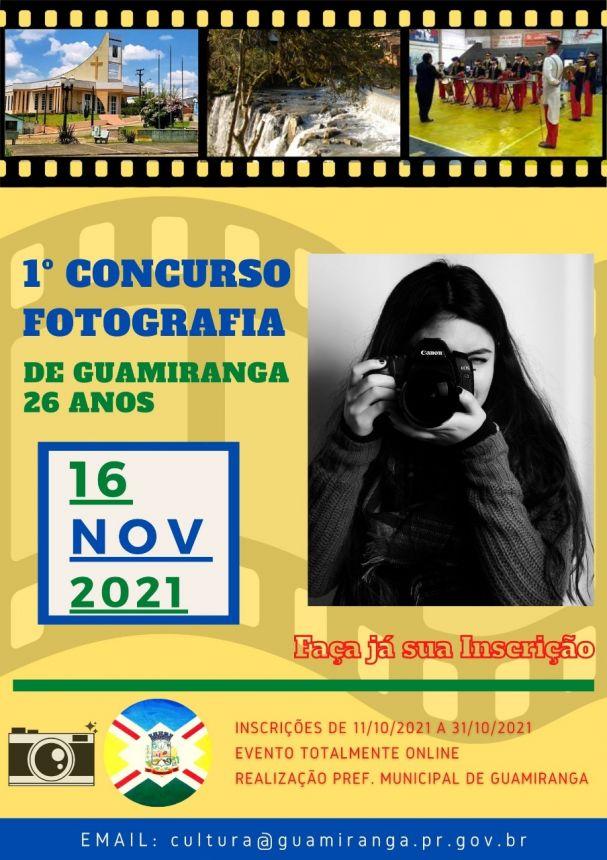 Concurso de Musica Infantil e Fotografia