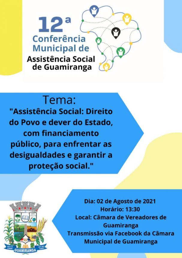 12ª Conferência Municipal de Assistência Social