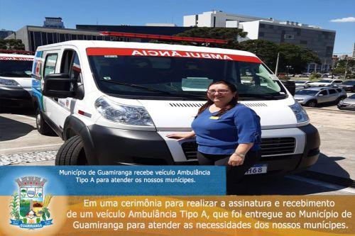 Ambulância Tipo A.