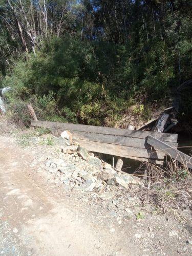 Substituição de Ponte no Guamirim