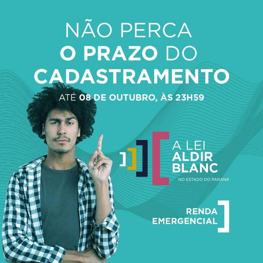 RENDA EMERGENCIAL- LEI ALDIR BLANC
