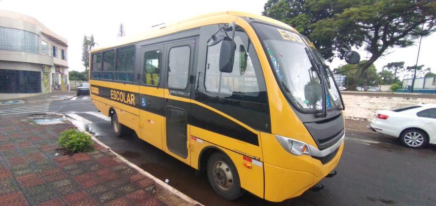 Dois novos micro-ônibus escolares reforçam a frota de Marialva
