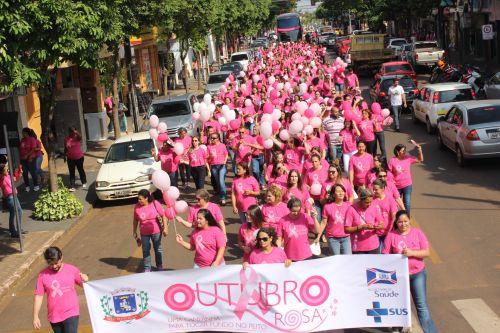 Começa a campanha Outubro Rosa