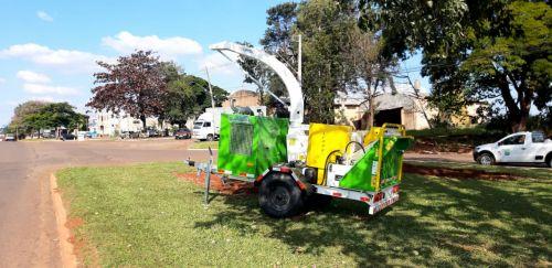 Novo equipamento vai agilizar o trabalho de trituração