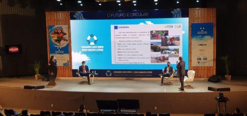 Marialva é destaque em congresso internacional sobre gestão de resíduos