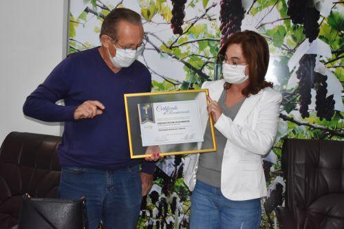 Marialva é premiada por programa de compras públicas