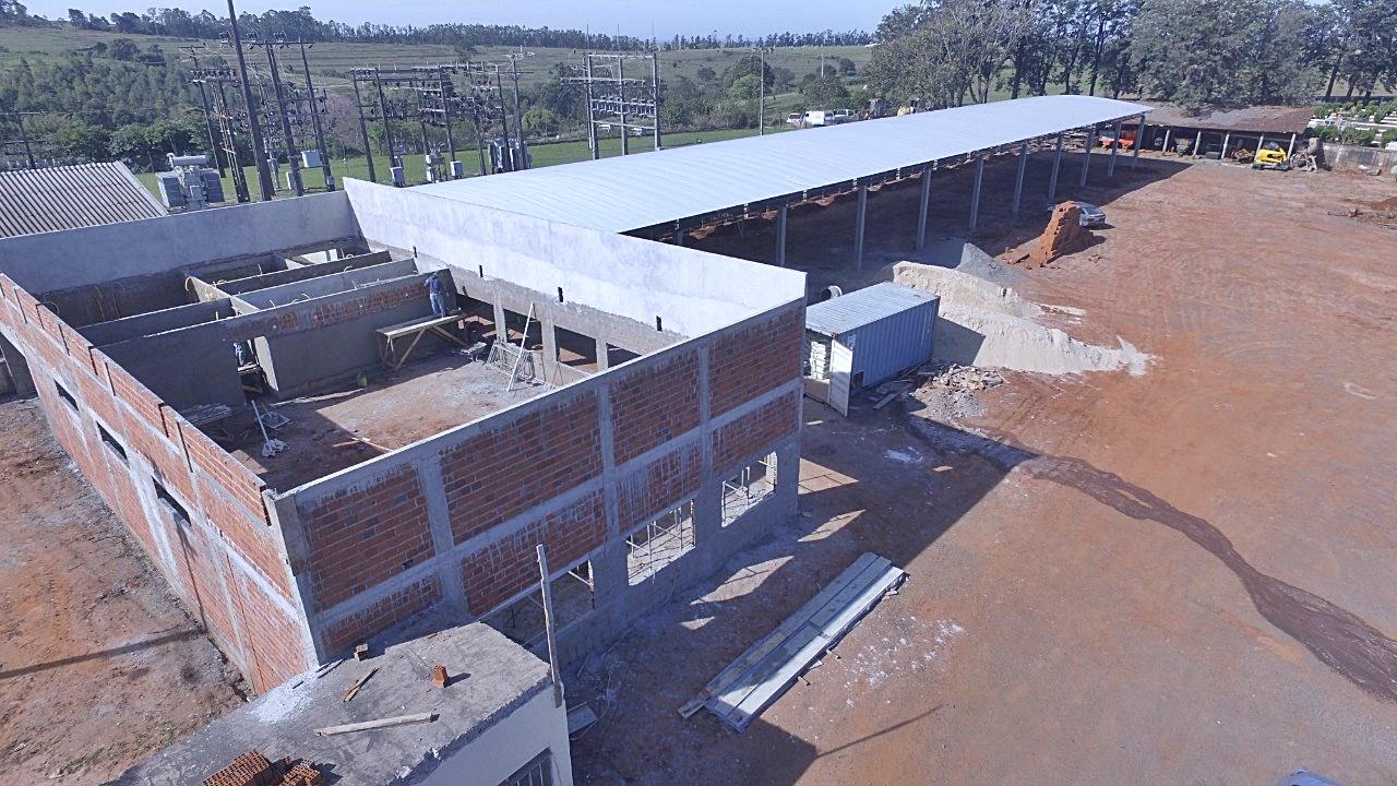 Construção patio