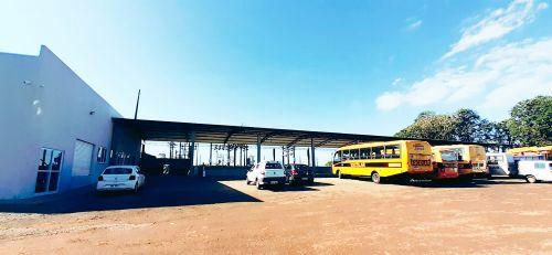 Administração de São Tomé inaugura novo pátio rodoviário