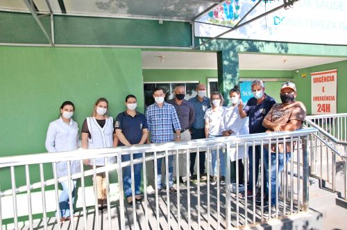 Administração de São Tomé inaugura ampliação da UBS e academia de saúde