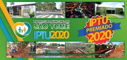 Sorteio IPTU PREMIADO será na próxima quinta feira dia 17 de dezembro