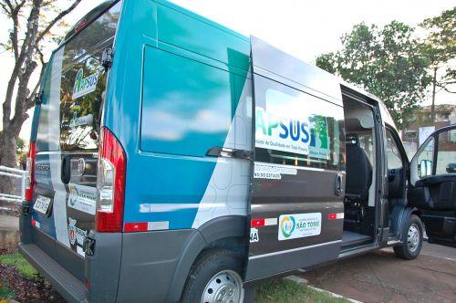 Administração de São Tomé recebe mais uma van para uso na saúde