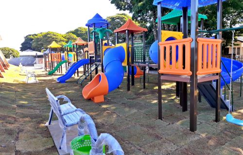 Em breve  população de São Tomé vai contar com novo parquinho para as crianças