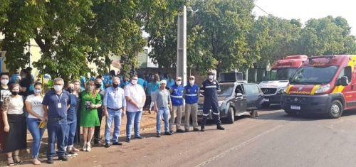 Prefeitura de São Tomé  promove ação alusiva a Semana Nacional do Trânsito