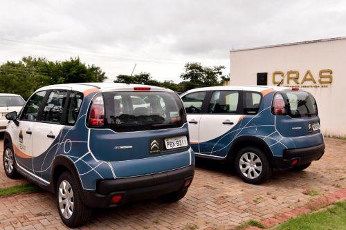 Município de Iretama recebe dois veículos do programa Mobilidade no Sistema Único de Assistência Social -MOBSUAS.