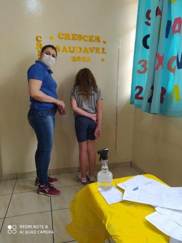 Programa Crescer Saudável 2021 - Escola Maria de Lurdes