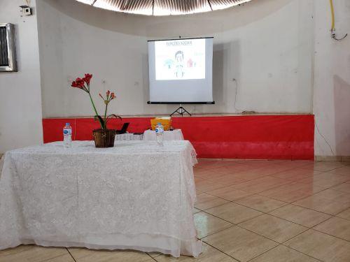Palestra com o Psicologo Frank Duarte