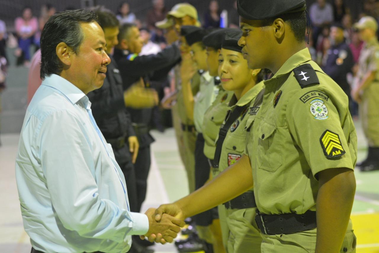 29ª turma dos Agentes Mirins convida prefeito para grande formatura, veja fotos