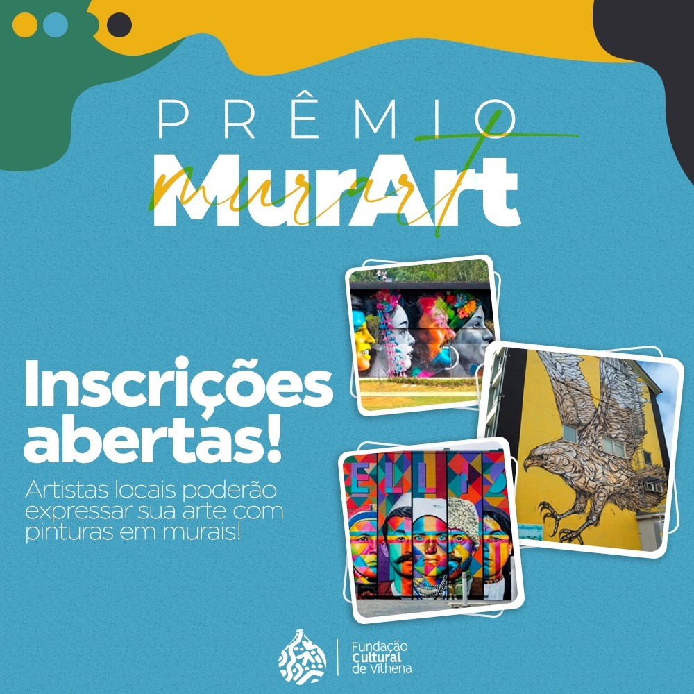 PR�MIO DAR� VISIBILIDADE a artistas com pinturas em murais no pr�prio pr�dio da Funda��o Cultural de Vilhena