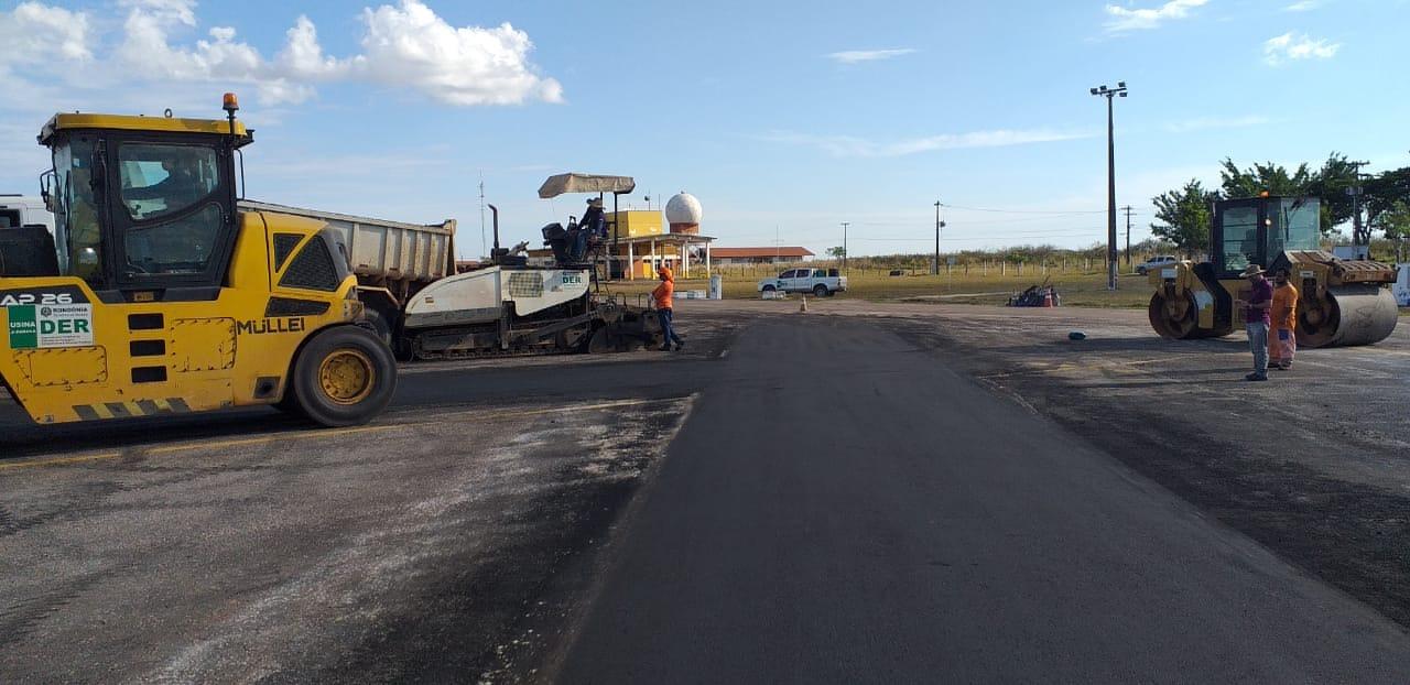 AEROPORTO DE VILHENA recebe melhorias: cobranças e acompanhamento da Prefeitura revelam mais obras previstas no local