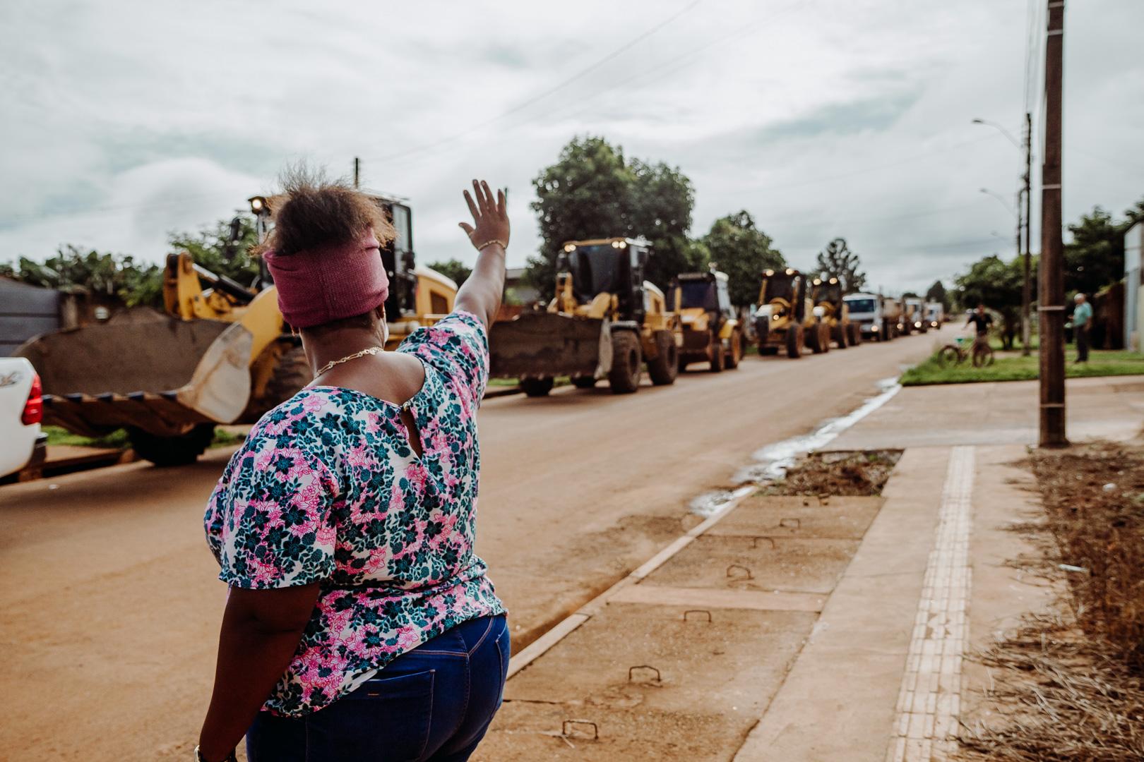 """Semosp inicia operação """"Cidade Limpa"""" no bairro São Jerônimo"""