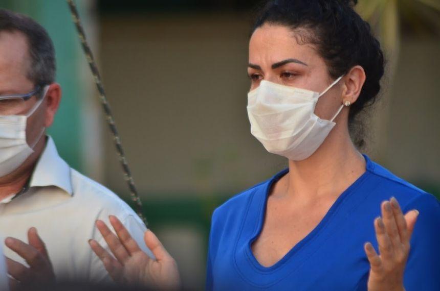 Homenagem a médico vítima de covid-19 mobiliza profissionais da Saúde no HRV