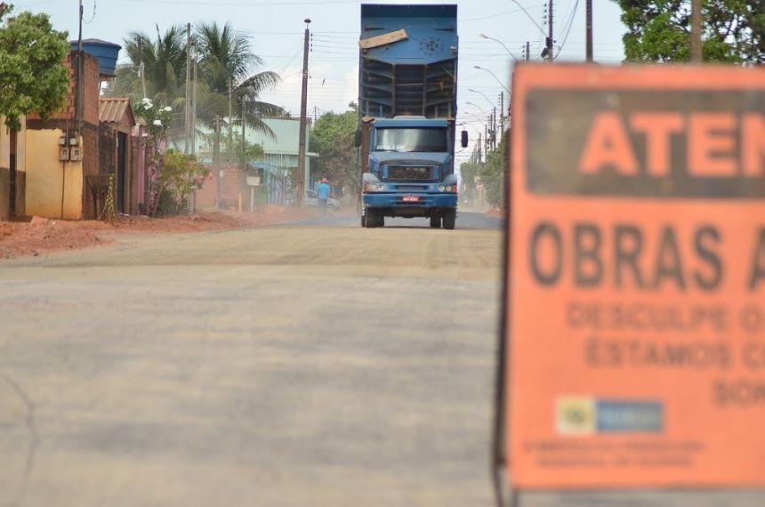 Projetos de asfaltamento de seis bairros em Vilhena estão em fase final, veja cronograma da Prefeitura
