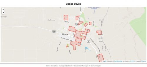 Secretaria Municipal de Comunicação e Ifro lançam Painel da Covid-19 com gráficos e dados atualizados diariamente
