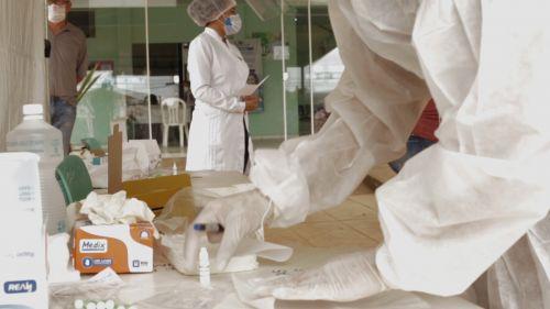 Testes rápidos começam a ser utilizados em servidores da Saúde e moradores de diversos bairros de Vilhena