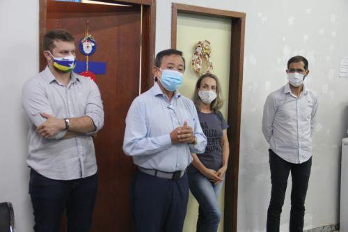 PREFEITO EDUARDO apresenta aos servidores os novos secretários