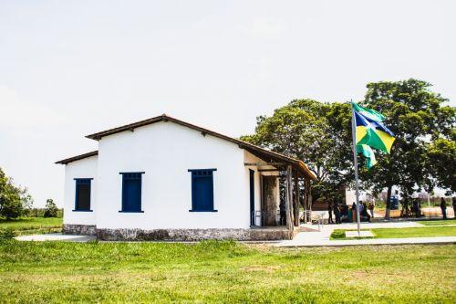 ENTREGA OFICIAL DA obra do Museu Casa de Rondon contou com solenidade e autoridades