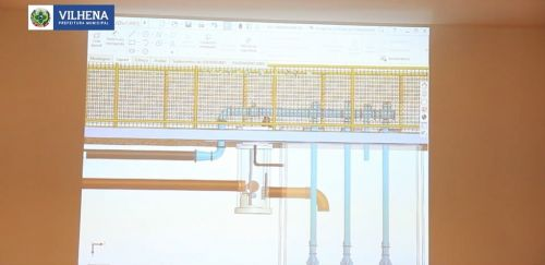 Projeto 3D da maior obra da história de Vilhena é apresentado: veja imagens da 1ª etapa de saneamento básico do município