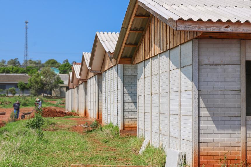 As obras do Programa Habitação Solidária continuam!