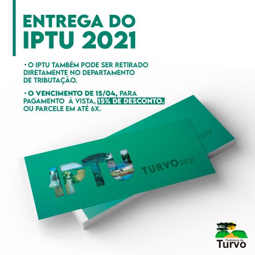 Entrega do IPTU 2021