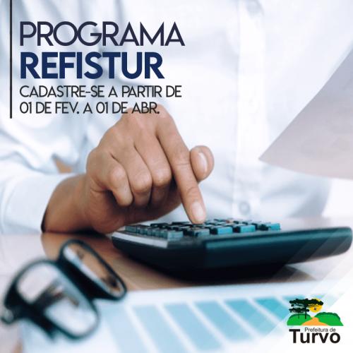 REFISTUR dá oportunidade de regularização de débitos em até 36 vezes!